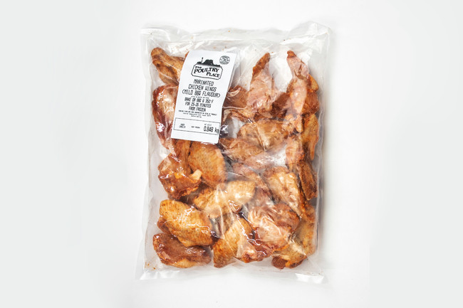 BBQ Marinated Chicken Wings