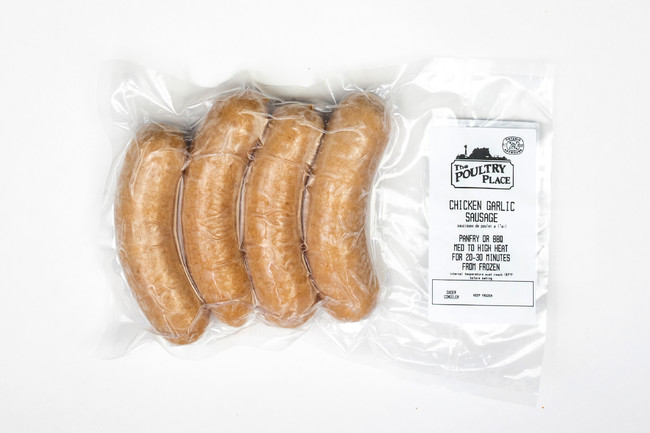 Garlic Chicken Sausage