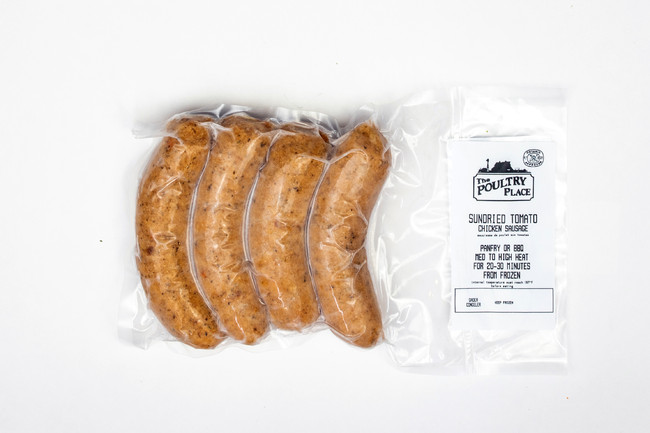 Sundried Tomato Chicken Sausage